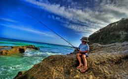 Fishing in Tarifa