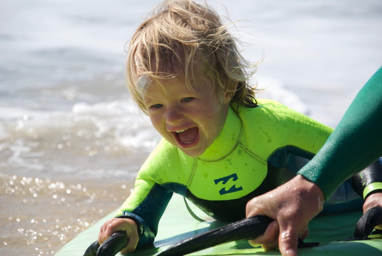 Surfing for kids